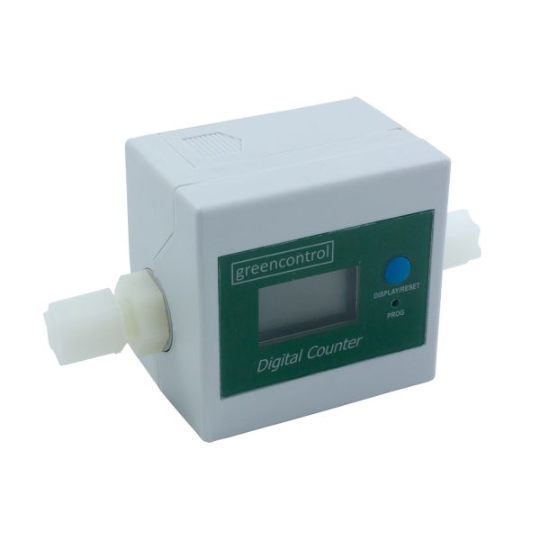 Water flow & filter change counter. Primato DigiFlow 8310T