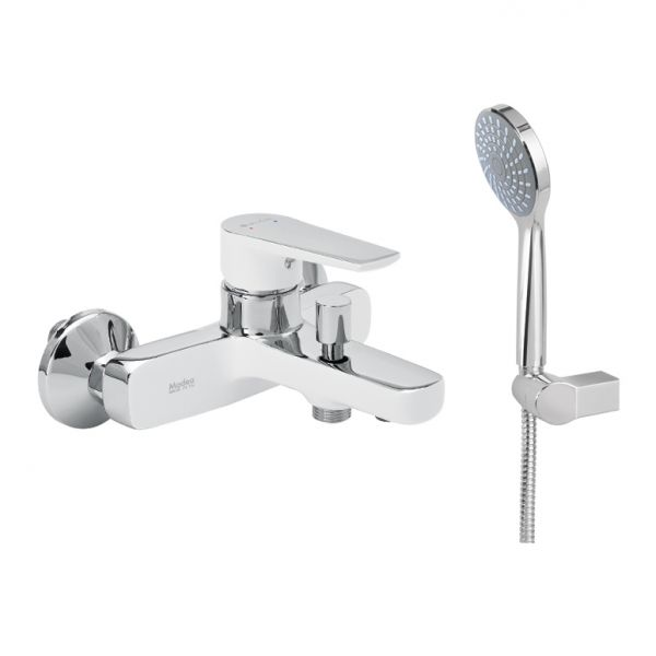Luxurious bathroom tap MODEA OPTIMA VIVID WHITE 00-2512