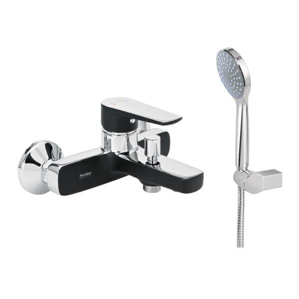 Luxurious bathroom tap MODEA OPTIMA VIVID BLACK 00-2522