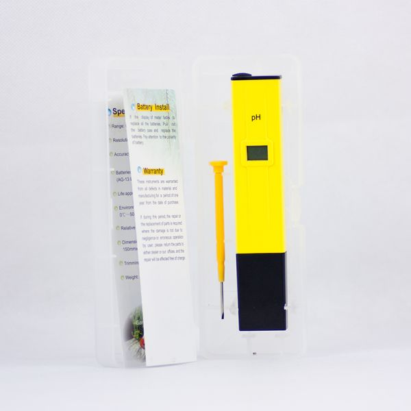 Ph meter packaging