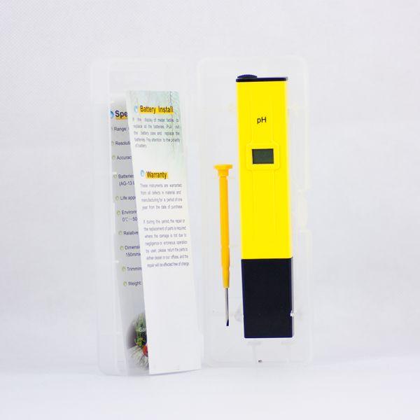 Συσκευασία μετρητή PH με οδηγίες χρήσης και ρύθμισης