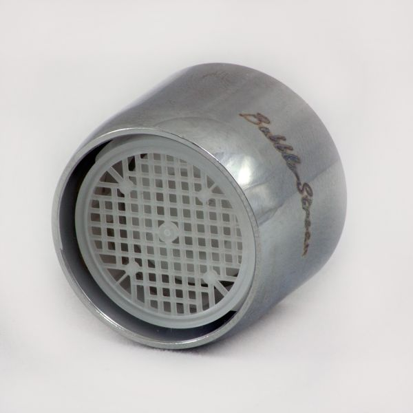 Water Flow Economy faucet aerator with external threads.BUBBLE STREAM 2047998