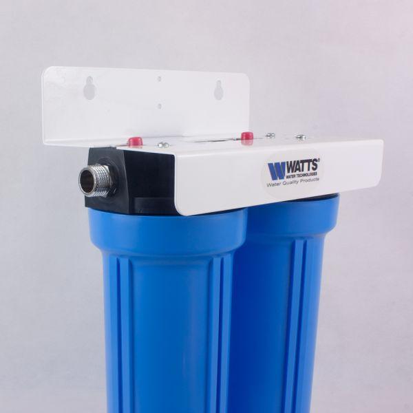 Wasserfilter doppelt untertisch Watts mit Aktivkohle aus USA