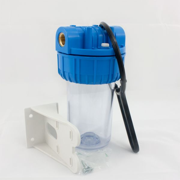 """Wasserfilter Hausanschluss 7"""" mit Schlüssel und Basis PRIMATO CEL-7-12"""