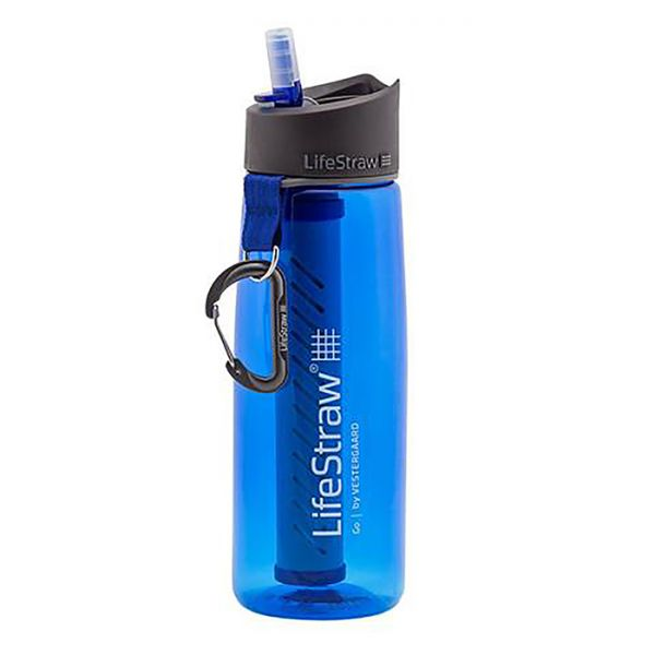 LifeStraw® GO 2-stage water filter survival bottle LS11103