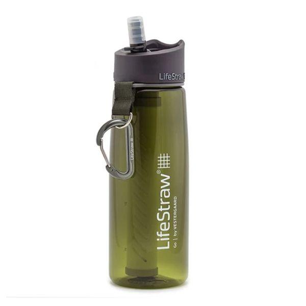 LifeStraw® GO GREEN 2-stage water filter survival bottle LS11105
