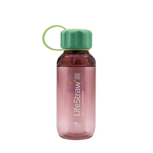 LifeStraw® Play Wildberry Pink Children's survival bottle for lead reduction LS11116