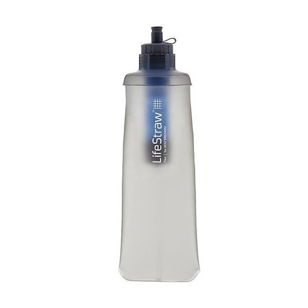 LifeStraw® FLEX 2-stage survival water filter and folding bottle LS11122